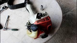 видео Мотокоса STIHL FS 55 | Аренда мотокосы в СПб | Бензиновая мотокоса Штиль - прокат в Санкт-Петербурге