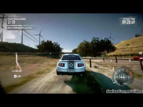 Need for Speed The Run - Walkthrough Part 2 (Hard) - Stage 1 - Altamont Pass Rd