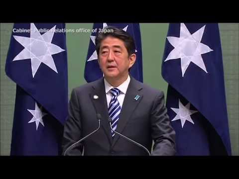 Prime Minister Abe's visit  to Australia: Remarks to the  Australian Parliament