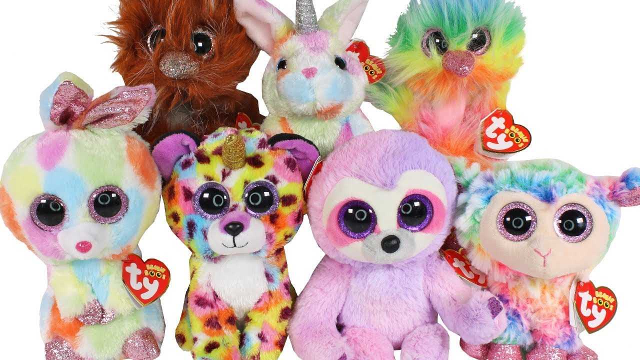 4c0ccafdca6 BRAND NEW 2019 TY Beanie Boos Haul Unboxing Toy Review TY Beanie Boo ...