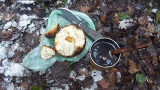 Как я пек в лесу хлеб и искал чагу .