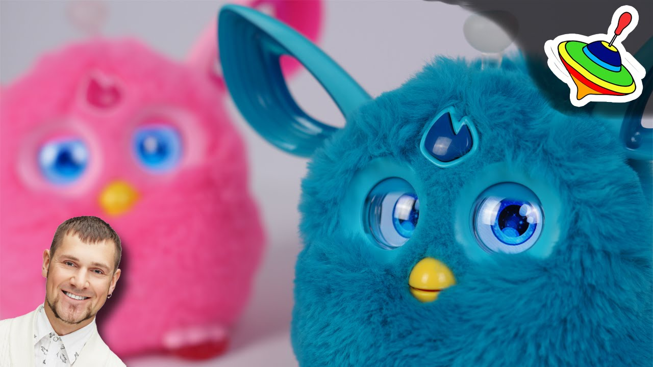 Русский Ферби Коннект ( Furby Connect RU) - YouTube