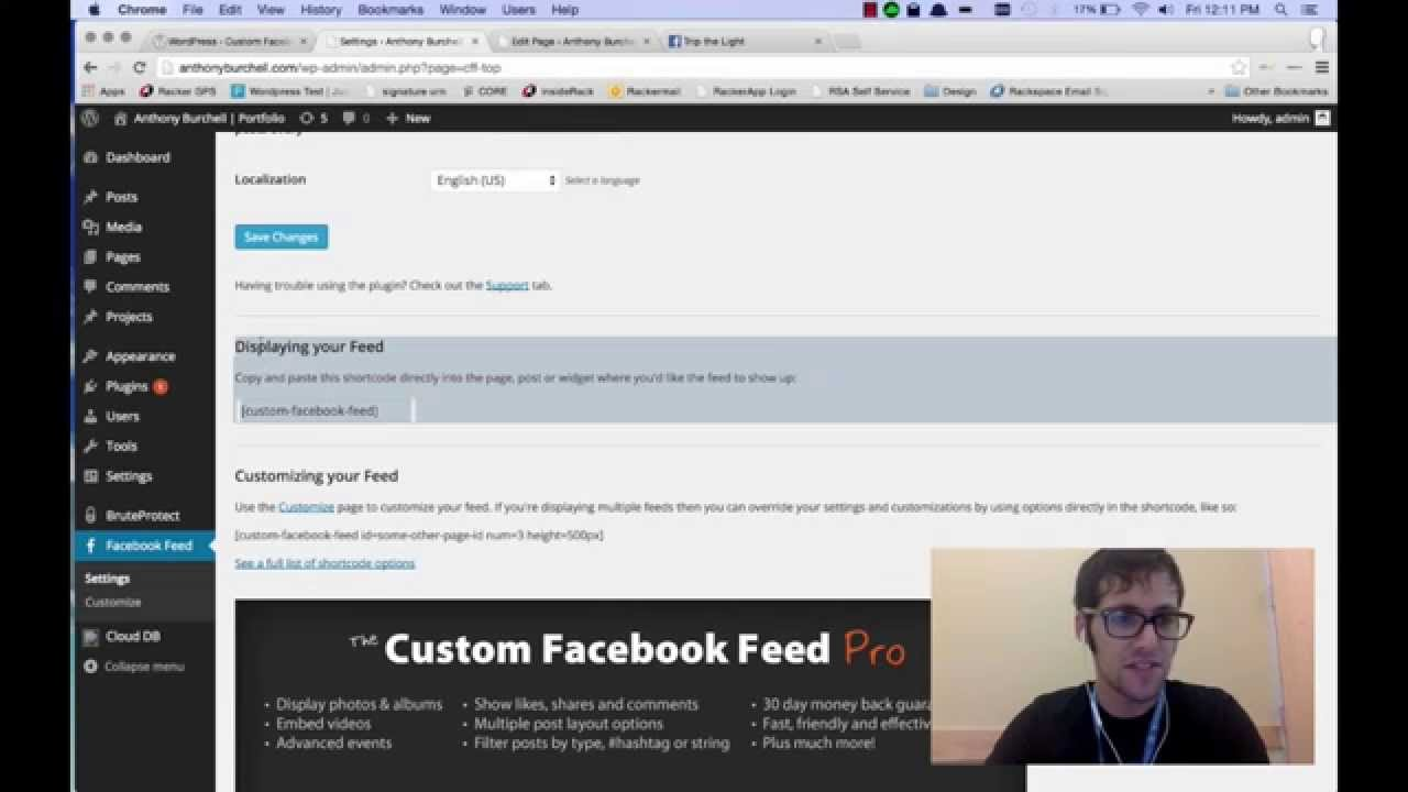 Creating A Custom Facebook Feed For WordPress