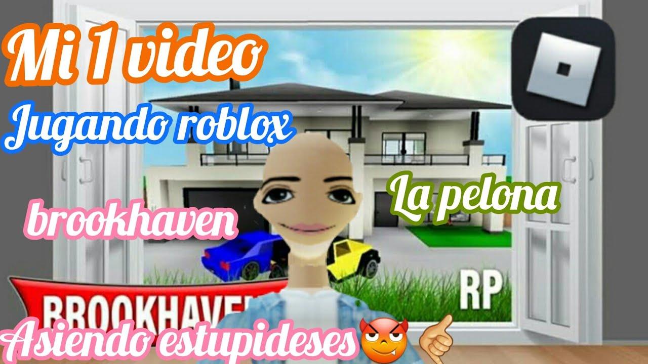 Download jugando brookhaven/mi primer video /la pelona #roblox