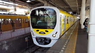西武30000系 38105F 鷺ノ宮駅到着~発車 '18.09.09