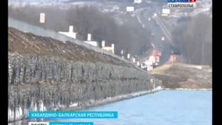 Дорога у озера Тамбукан станет шире и выше(В Кабардино-Балкарии завершают строительство дороги в обход озера Тамбукан. Инженеры уверяют, что лечебны..., 2016-12-05T08:40:58.000Z)