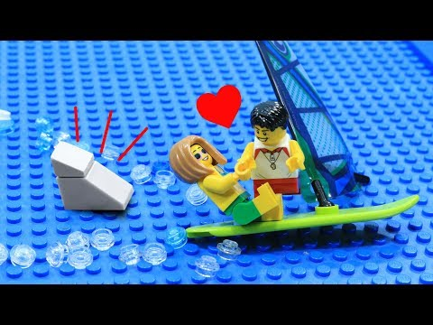 Lego Shark Attack: Love At The Beach