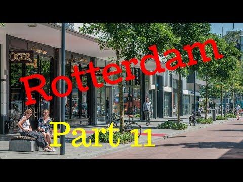 Rotterdam, The Netherlands.. City Tour (Part11/12) Kruiskade (4K)