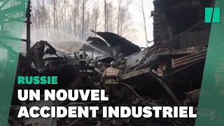 En Russie, l'incendie d'une usine d'explosifs fait au moins 15 morts