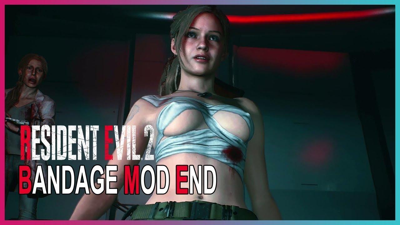Resident Evil 2 Remake - Claire Bandage Mod End [1440p 60fps]
