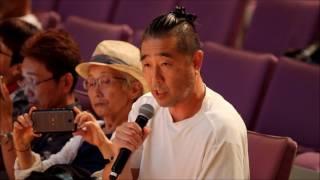 2017年6月11日に石垣市民会館大ホールで自衛隊説明会が開かれた