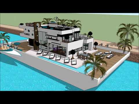 HOUSEBOAT NEW ENGLAND BOAT SHOW 2018 BOSTON HOUSEBOAT ENGALND FLOATING HOUSE VILLA MANSION Yacht Get