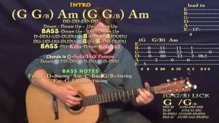 Star of the Show (Thomas Rhett) Guitar Lesson Chord Chart