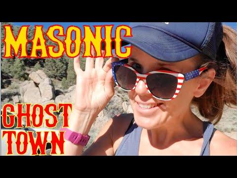 Poking Around Masonic Ghost Town And Chemung Mine