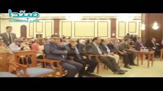 فيديو| بحضور نجوم الكرة.. علاء نبيل يحتفل بعقد قران نجله