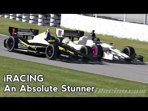 iRacing : An Absolute Stunner (Indycar @ Gateway)