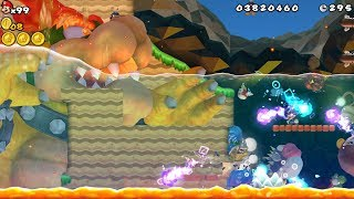 New Super Mario Bros. Wii - Chaotic Mario World's 01-01 But Completely Destroyed