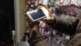 Обзор PowerBank SOLAR POWER + LED Capacity: 10800mAh, POWER BOX SOLAR POWER + LED Capacity: 15000mAh