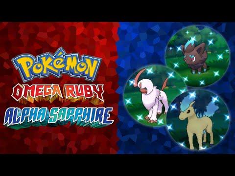 Pokemon Omega Ruby and Alpha Sapphire - DexNav Shiny Chaining Guide