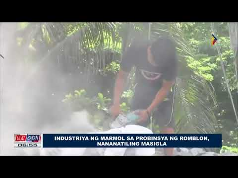 Industriya ng marmol sa probinsya ng Romblon, nananatiling masigla