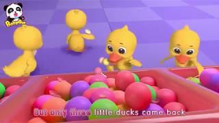 Five Little Ducks   Nursery Rhymes   Kids Songs   Kids Cartoon