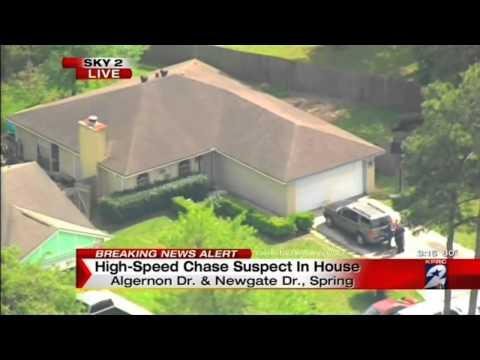 Houston High Speed Chase 2015  KPRC-TV