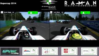 Epic first lap Positive SimRacing GPVWC Supercup 2015