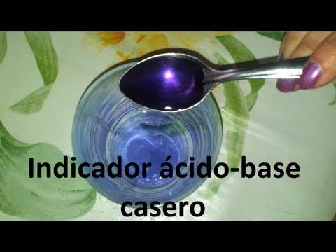 Cómo descubrir ácidos y bases (Experimentos Caseros) - YouTube