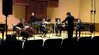 Emily Koh: f-sion for clarinet, saxophone, percussion, violin and bass