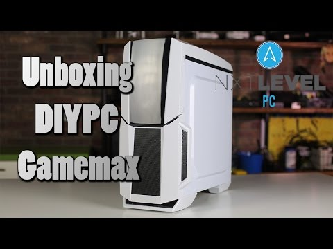 Unboxing DIYPC Gamemax Computer Case | NXT Level PC