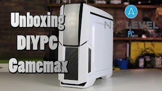 Unboxing DIYPC Gamemax Computer Case | NXT Level PC