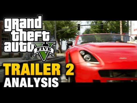 GTA 5 - Trailer 2 Analysis