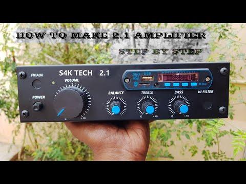 2.1 Amplifier Making