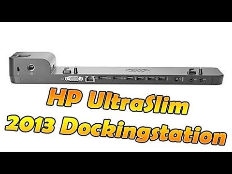 HP 2013 UltraSlim Docking Station - Unboxing und Review - HD Deutsch
