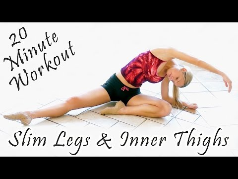 Lean Legs & Inner Thigh Clarity 20 Minute Workout & Stretches - Donnie Fitness
