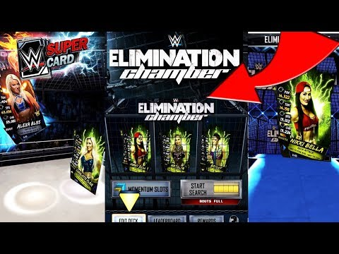 OFFICIAL WWE SUPERCARD SEASON 4 ELIMINATION CHAMBER GAMEPLAY!!