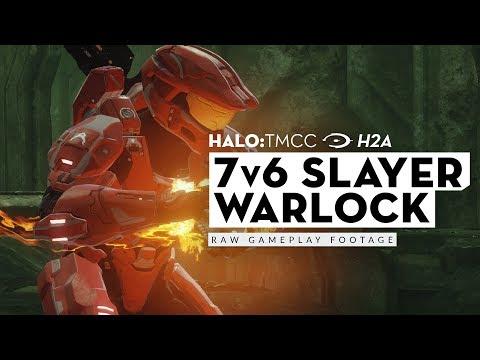 [MCC-H2A] 7v6 Slayer on Warlock