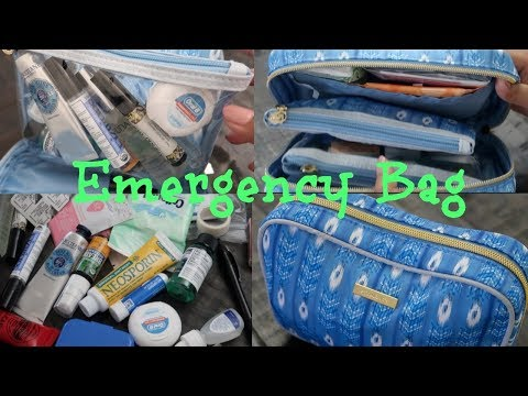 EMERGENCY/OCD/WALKING PHARMACY BAG (TAGALOG)