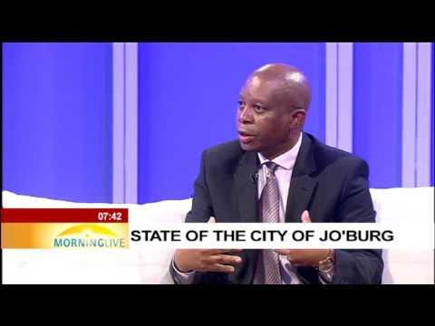 Mayor Herman Mashaba on state of the City of Johannesburg