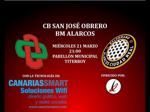 BALONMANO: DIVISIÓN HONOR PLATA MASCULINO: San José Obrero - BM Alarcos Ciudad Real