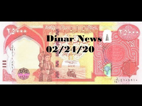 Right Now Would Be A Great Time To Change The Dinar Rate