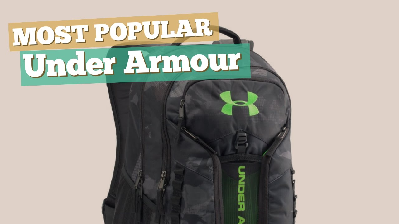 Under Armour Backpacks For Men    Most Popular 2017 - YouTube 8f5e2f62104f5