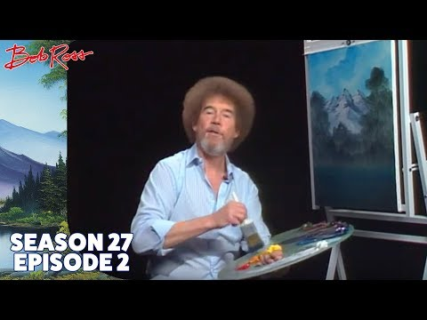 Bob Ross - Valley View (Season 21 Episode 1) - YouTube
