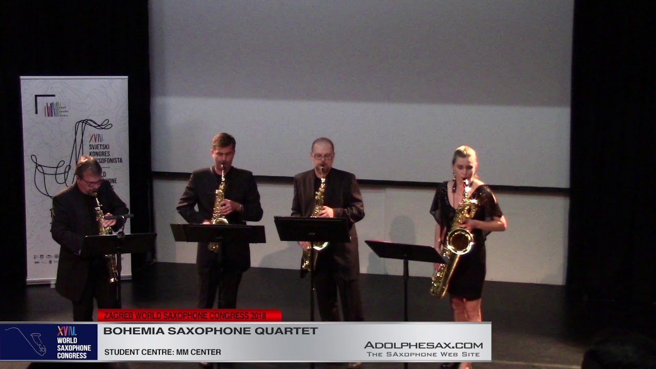 Out of the Ruins by Michael Nyman    Bohemia Saxophone Quartet   XVIII World Sax Congress 2018 #adol