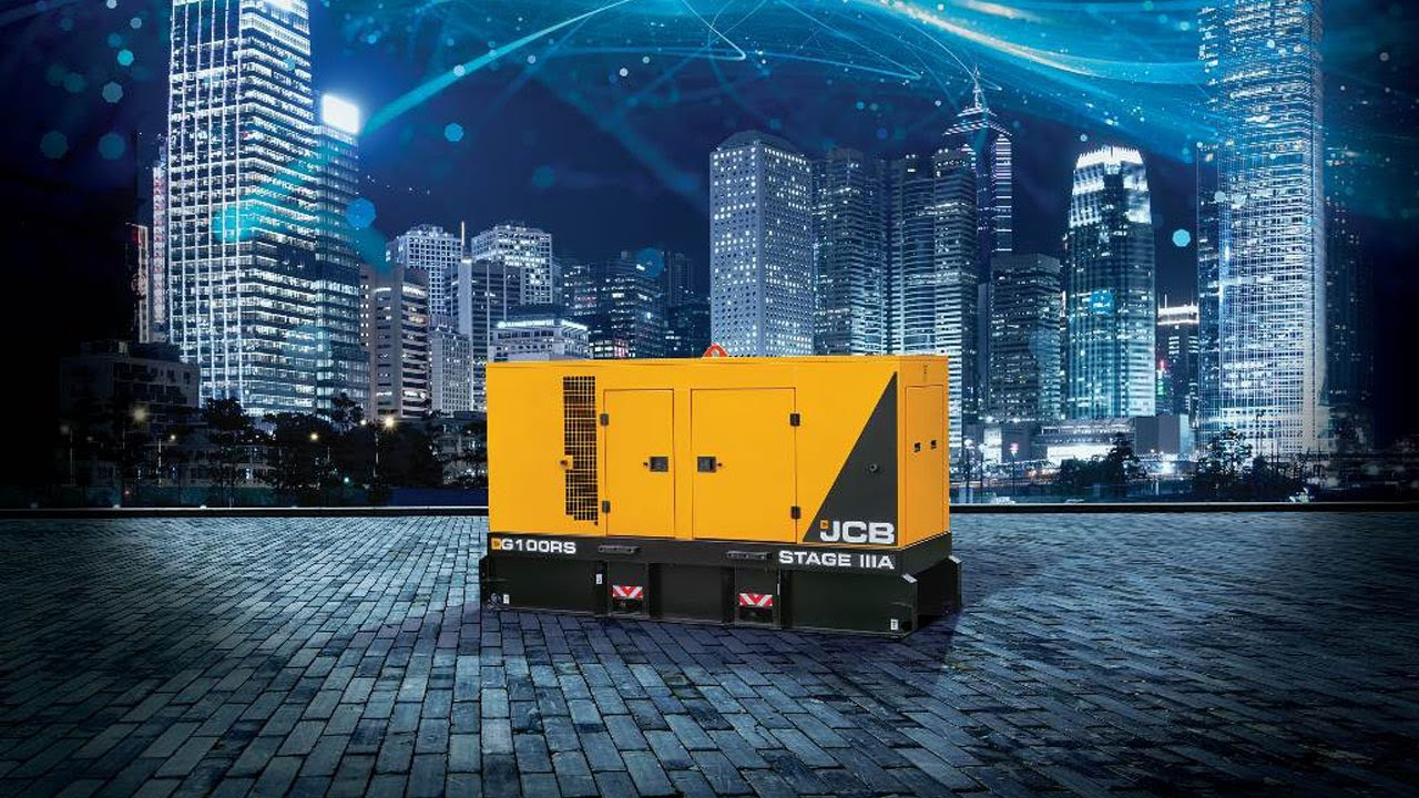 New JCB Rental Generators Tick All the Boxes