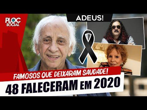 48 FAMOSOS QUE FALECERAM EM 2020