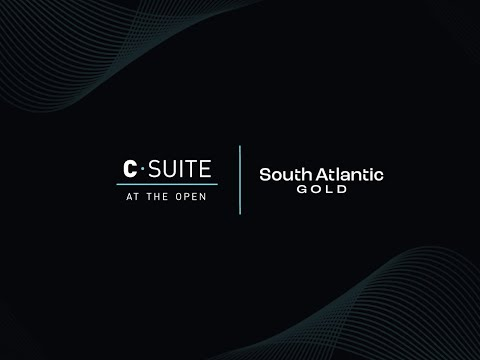 TSX Venture Exchange, South Atlantic Gold, The Open首席执行官