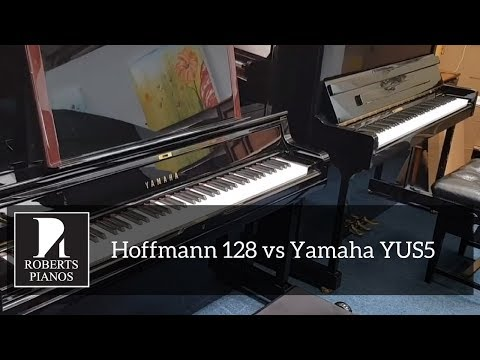 IN STOCK: Hoffmann 128 vs Yamaha YUS5 131cm upright pianos - which is best?
