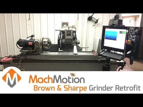 BROWN & SHARPE UNIVERSAL GRINDER RETROFIT
