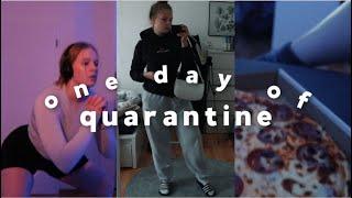 one day of quarantine | chillen, uni, sport | Hanna Marie